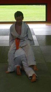 Fête du sport : échauffement judo !