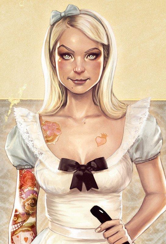 Suicide girls, pour mes Creepies tatoués !