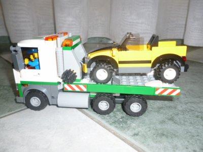 LEGO CITY : construction du centre ville !