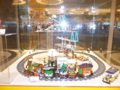 Et pour mon fan de LEGO : p'tite visite !
