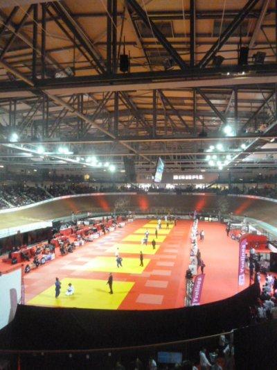 Championnats de France Séniors de Judo ( catégorie poids lourds ) et c'est parti !