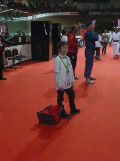 Notre dimanche de Championnats de France Séniors de Judo en bénévolontaria !