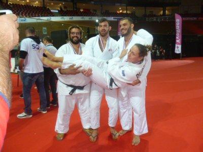 Ambiance judo !
