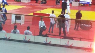 Souvenirs : estafette en coulisses, le week-end dernier lors des Championnats de FRANCE de Judo Séniors ; 1ère division !