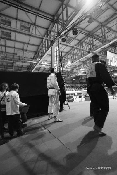 Souvenir : week-end dernier lors des Championnats de France de Judo Séniors 1ère division