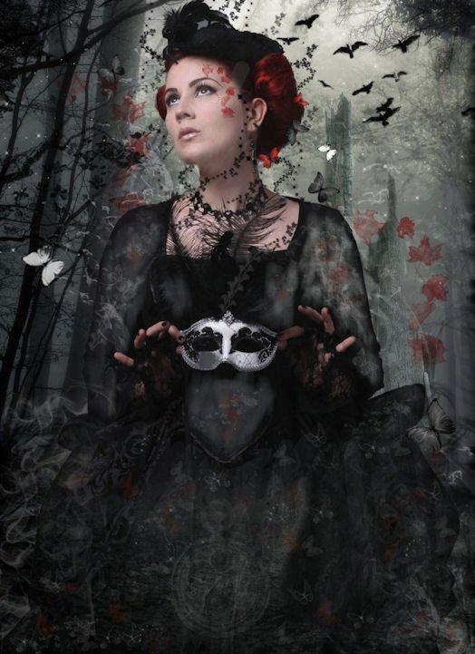 Imagerie gothique : montages et créas divers, trouvés sur le net