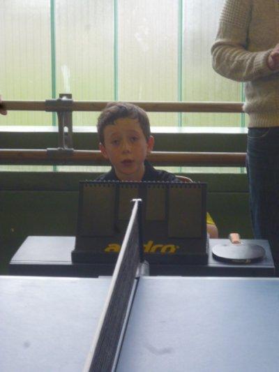 Tournoi de la galette au tennis de table !
