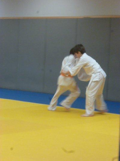 Parrainage judo au club du meilleur topin !