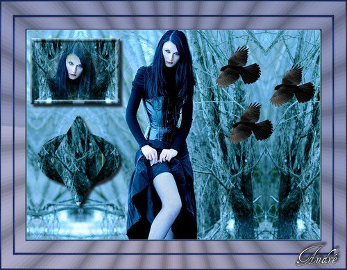 Sexy goth !