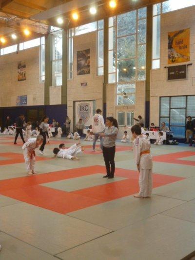 Première rencontre amicale de judo de l'année !