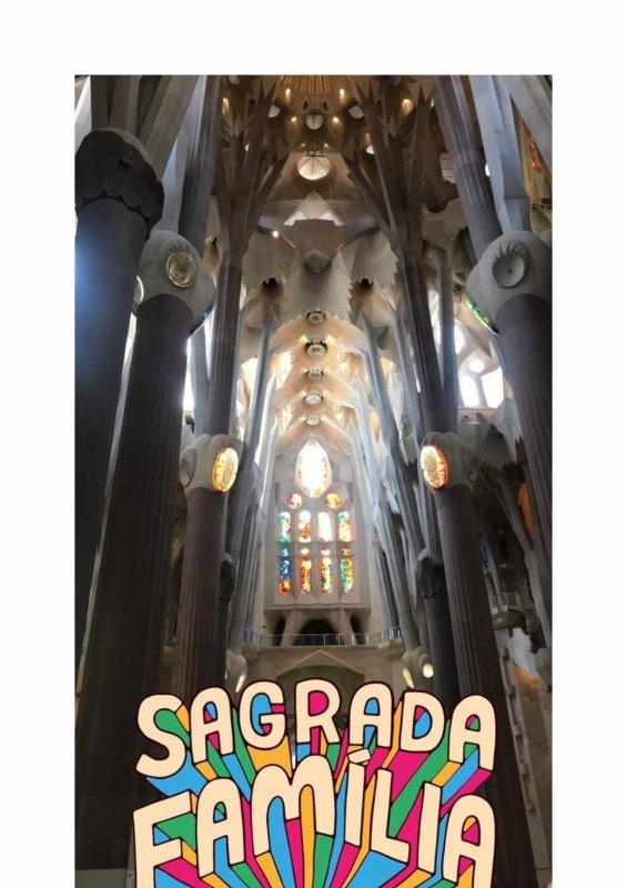 Voyage linguistique collège à BARCELONE : visite du jour