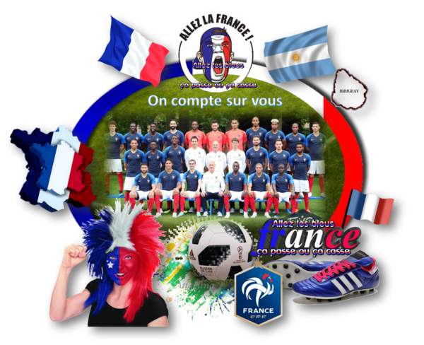 C'était à 16h et la France est en demie-finale !