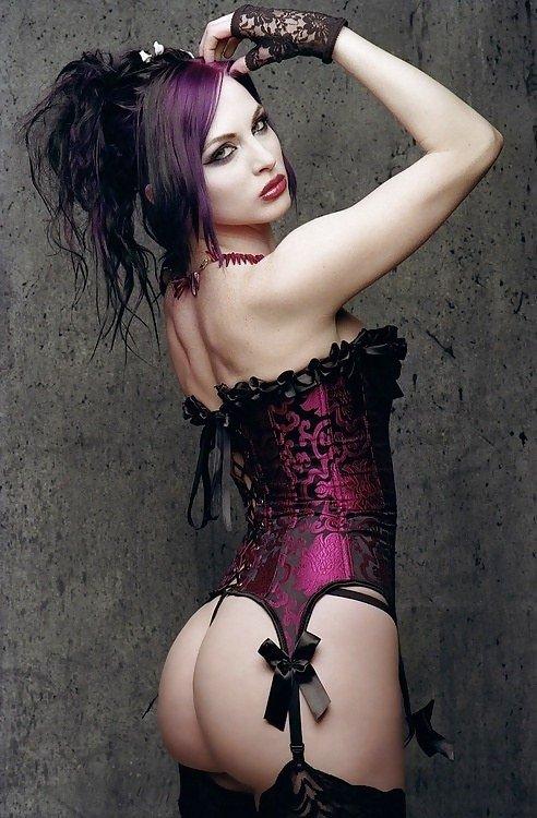 Goth sexy !