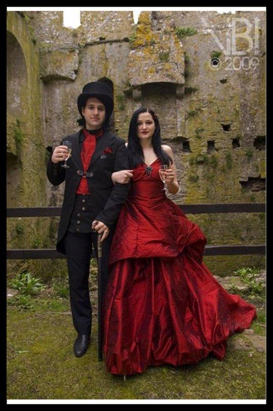 Jolis couples gothiques