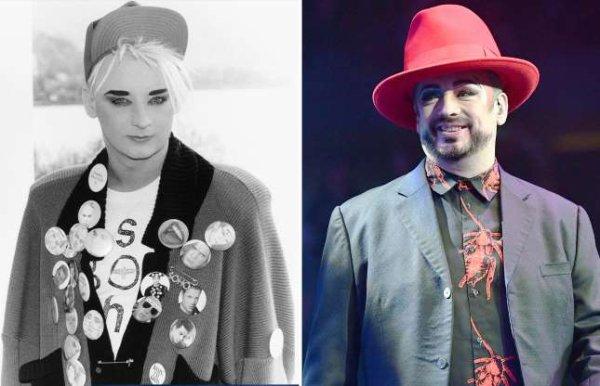 Popstars des années 80 à nos jours