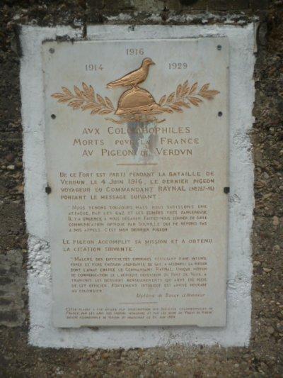 Les pigeons du Fort de Vaux
