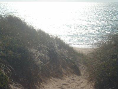 A la plage des Saulières