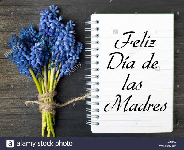 Bonne fête des mères à toutes les Mamans espagnoles