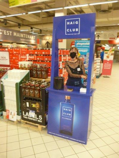 HAIG CLUB : reprise des dégustations en magasin !