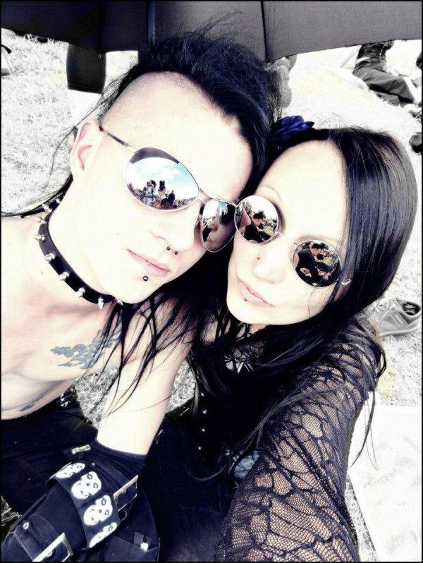 Goths en couple