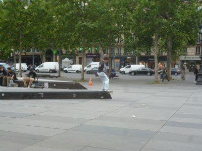 Fin de semaine Place de la République