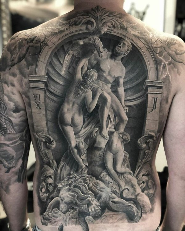 Body art tatoo