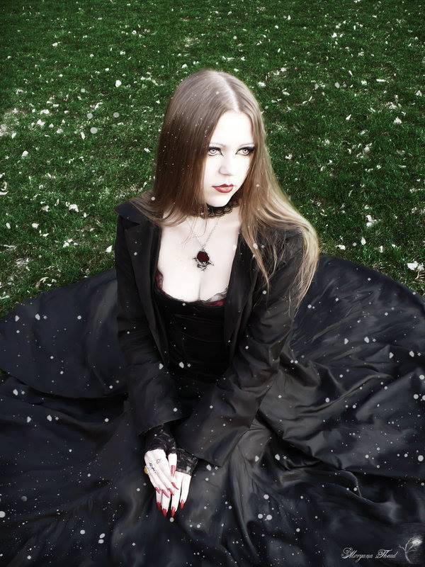 Style goth romantique