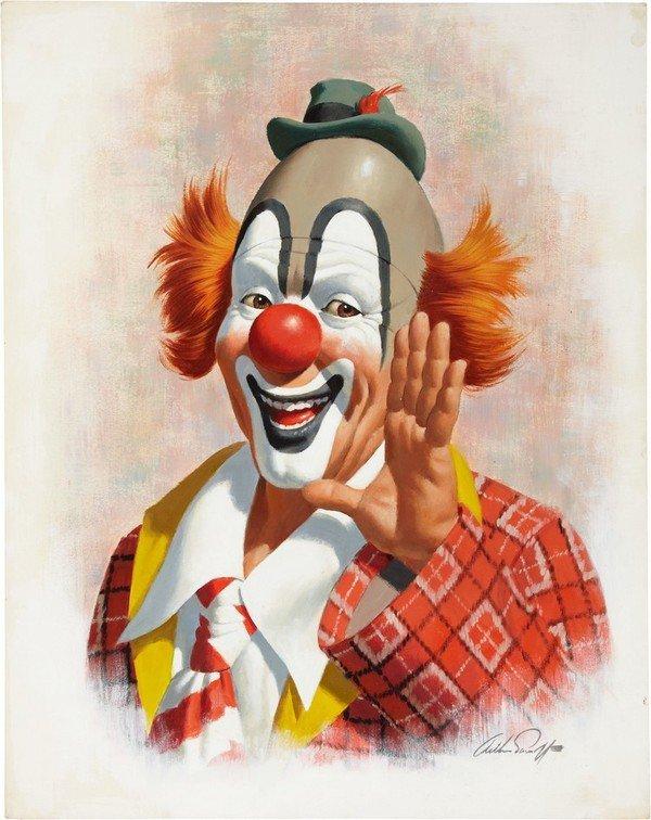 Clowns vintage