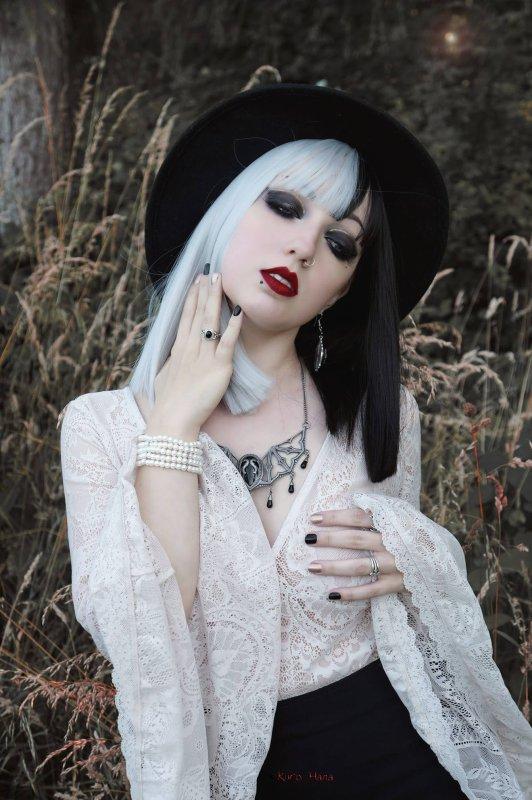 Goths en noir et blanc