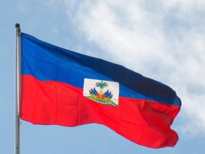 Haitian Flag proud of it