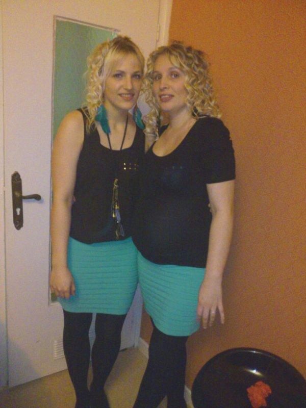 Ma soeur Jennifer & moi <3