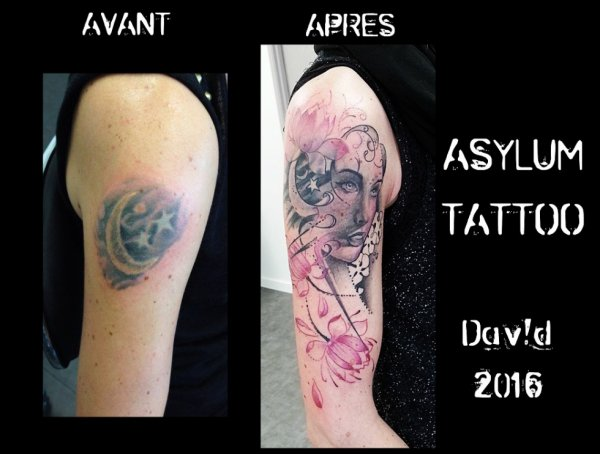 ASYLUM TATTOO POITIERS | Tattoo  COVER RECOUVREMENT