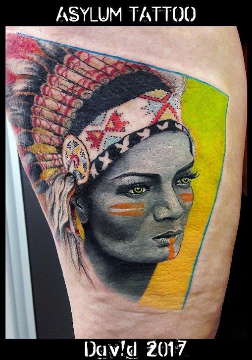 Tattoo Indien