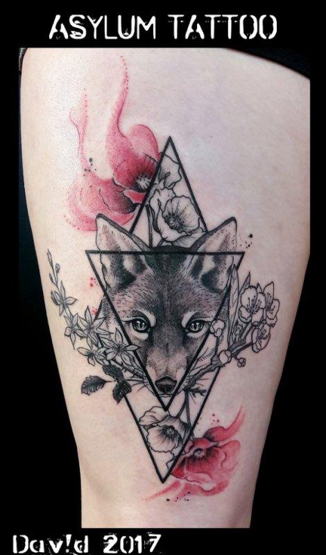 Tattoo Renard