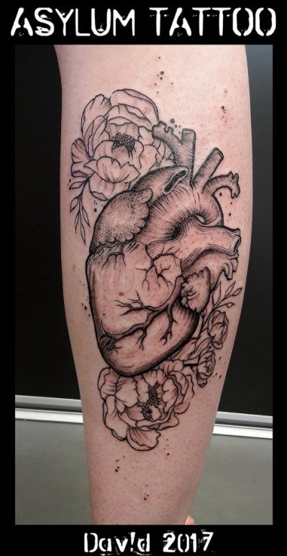 Tattoo Coeur ASYLUM TATTOO
