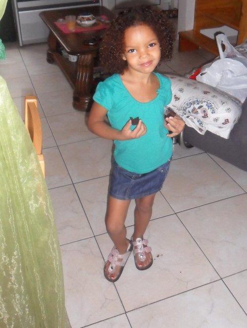 ma princesse qui pose !!!