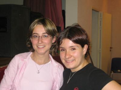 Aurore Teixeira et Stéphanie Hiribarne