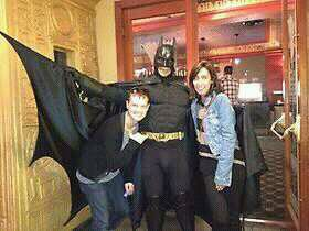 Batman,Isom&sa copine :)