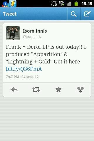 Isom a produit pour le groupe de sa copine