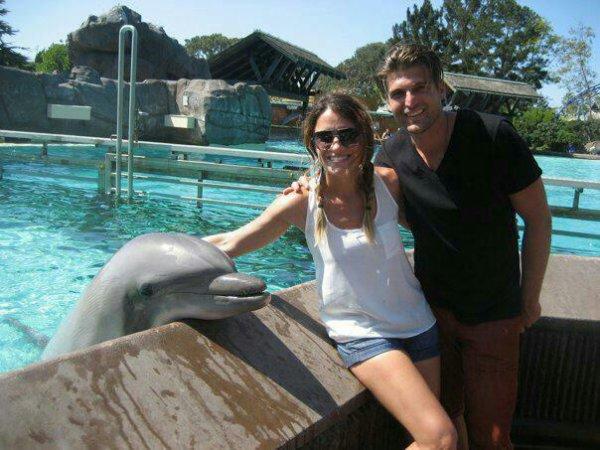 Cubbie sa femme et son dauphin x)