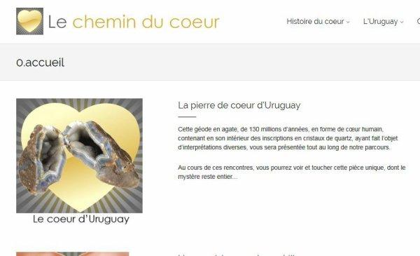 LE COEUR DE PIERRE D'URUGUAY EST EN FRANCE !