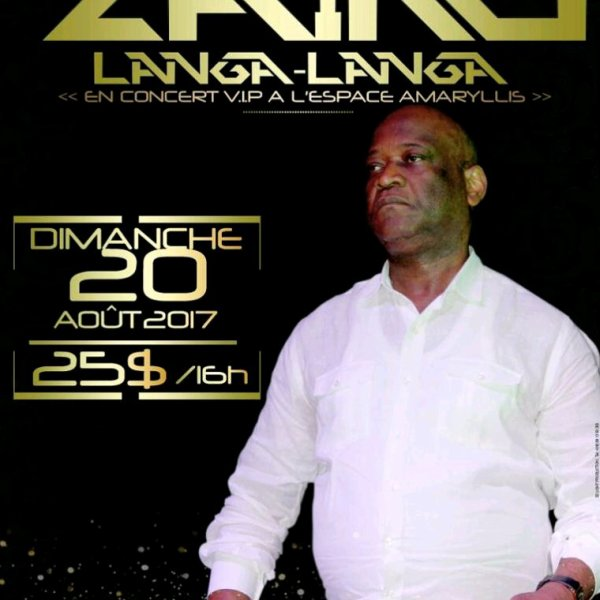 Zaiko Langa Langa en concert ce dimanche 20 août 2017