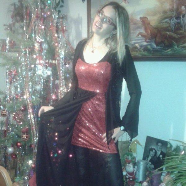Article 7 : Moi en robe de soirée