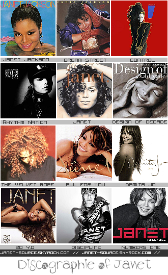 Janet-Source.Skyrock.com//  OTHER | DISCOGRAHIE OF QUEEN OF POP.