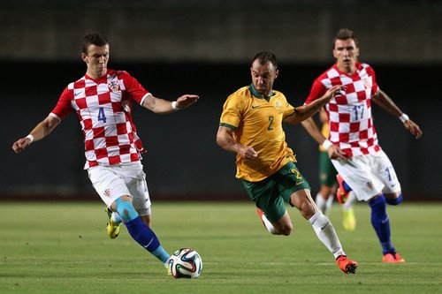 La Croatie domine l'Australie 1-0 en match amical, but de Jelavic (58')