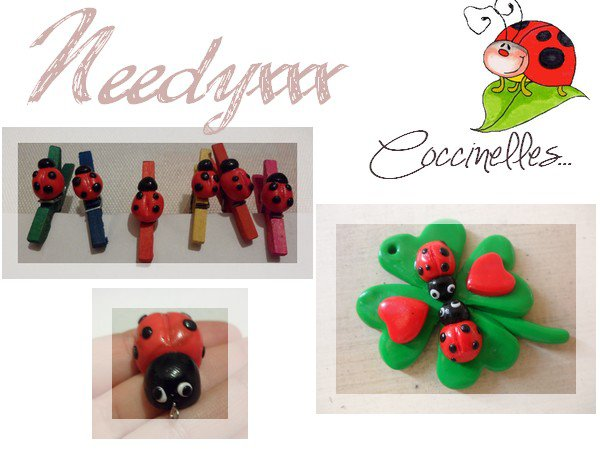 CREATION - COCCINELLES