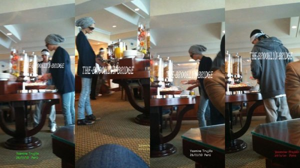 Bill & Tom in Marriot Hotel (Lima, Peru) - 26.11.10
