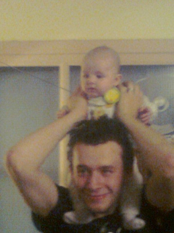 m beau garçon et sa fille léna