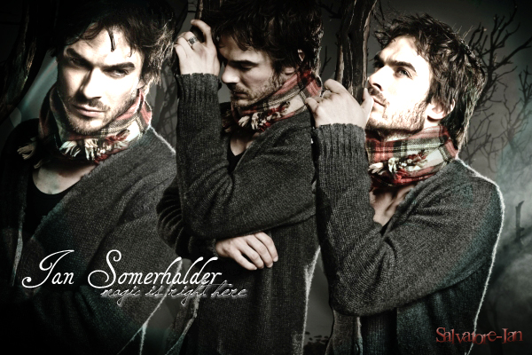 .  Salvatore-Ian, ta source sur Ian Somerhalder, le ténébreux Damon Salvatore !
