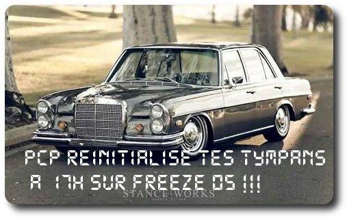 Pcp pimp tes tympans à 17h sur Freeze05(radio)